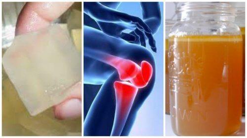 dureri articulare de gelatină