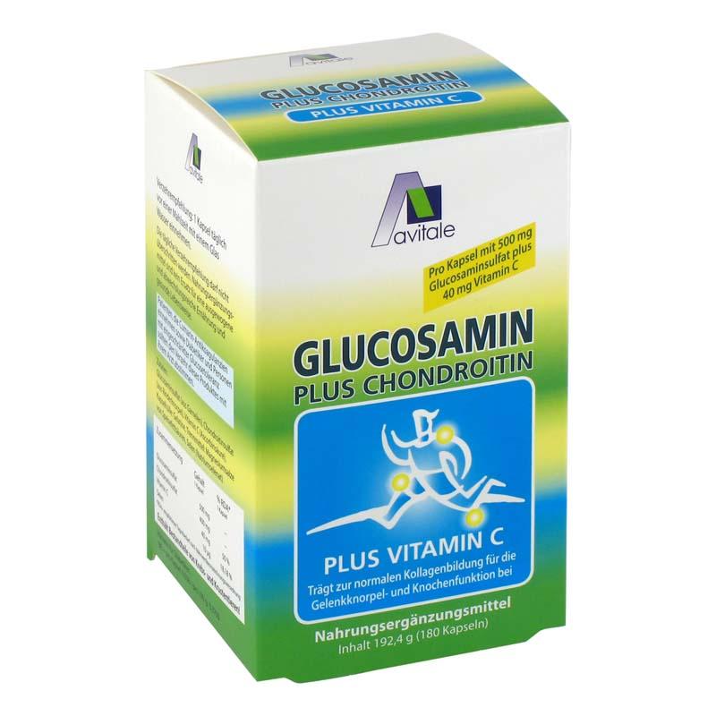 Glucozamină HCL & Condroitină