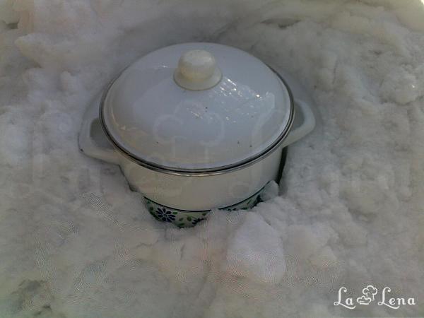Îngheţată de zăpadă