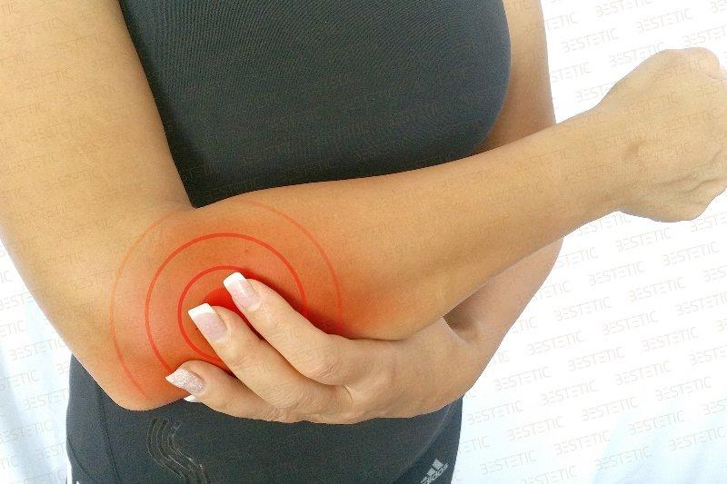 mușchiul articulației cotului doare