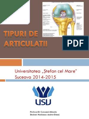 Clasificarea și nomenclatura bolilor articulare. Tematică Asistent Medicină - 04.2015