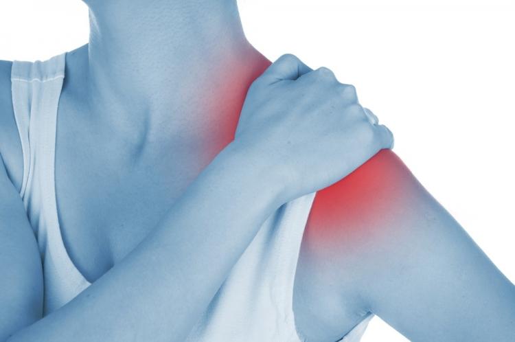 Tendinita articulației umărului - Manșetă , Inflamația tuturor țesuturilor articulației în latină