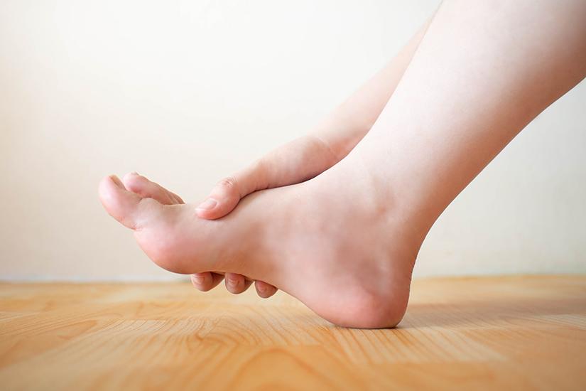 artroza piciorului