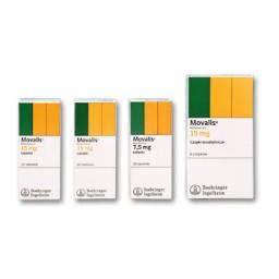 Movalis, 7,5 mg / 15 mg, comprimate