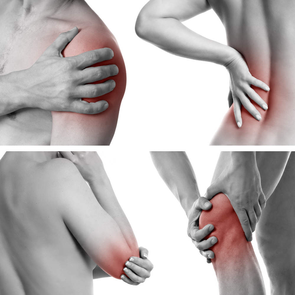 durerile de genunchi și coatele