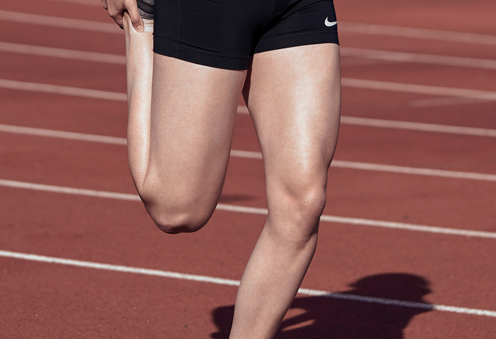alergători la genunchi