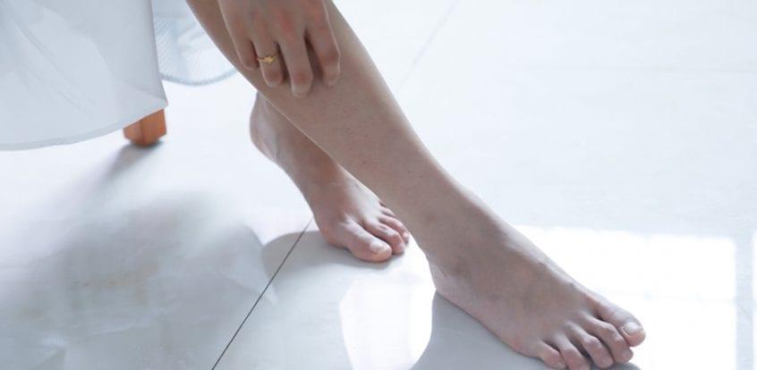 Artroza Gleznei, Artroza de gleznă
