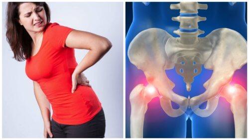 Durere la sold și partea inferioară a spatelui, Simptomele durerilor de șold