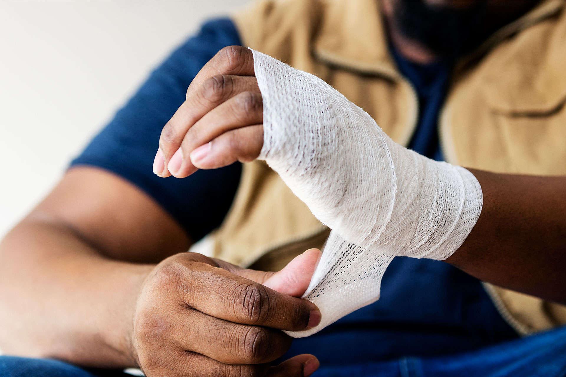 Vătămarea articulației pumnului, Gel de sferă pentru articulații