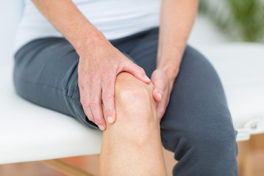 umflături pe articulațiile genunchiului