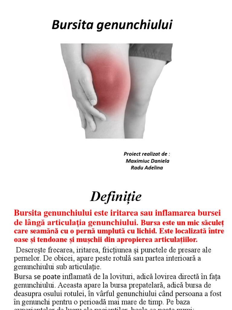 Bursita suprapatelară a tratamentului articulației genunchiului cu remedii populare