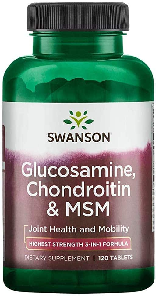 compoziție de gel de condroitină glucozamină