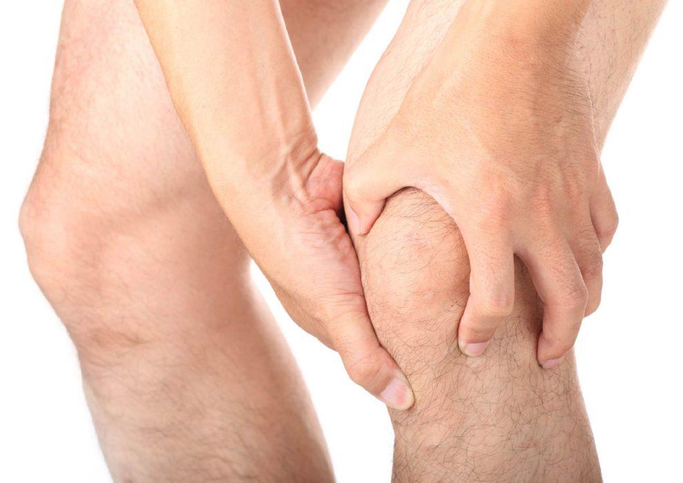 durere severă și umflare a genunchiului