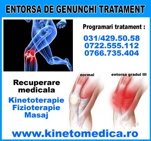 perioada de tratament a entorsei genunchiului pentru dureri în articulația genunchiului